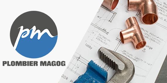 logo plombier magog